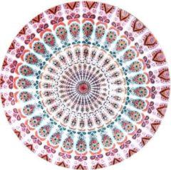 Moodadventures | Muismatten| Muismat Mandala Paars | Rond | 20 x 20 cm.
