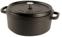 Zwarte Cuisinova gietijzeren braadpan - Ø 20 cm - 2,5 l - zwart