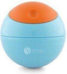 Blauwe Boon Snack Ball Snackbehälter-Orange/Blau