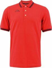 Kappa - Logo Maltax 5 MSS Polo - Rood - Heren - maat XL