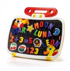 Toy Team Agencies Quercetti magneetbord incl. hoofdletters ABC + cijfer magneten, 120dlg.