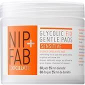 Nip+Fab Gesichtspflege Exfoliate Glycolic Fix Gentle Pads Sensitive 60 ml