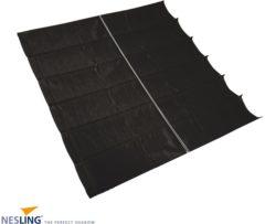 Nesling Coolfit harmonica schaduwdoek zwart - 2.90 x 3.0 meter