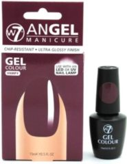 Paarse W7 Angel Manicure Gel UV Nagellak - Vampy