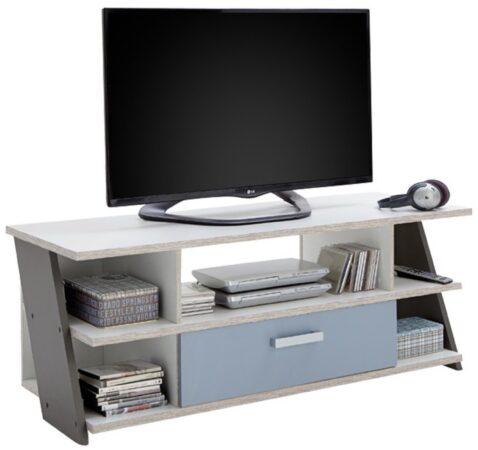 Afbeelding van FD Furniture Tv-meubel Nona 135 cm breed - Zand eiken