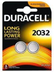 Batterie Typ 2032 Lithium Knopfbatterie Duracell Schwarz