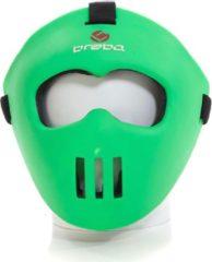 Brabo Spelersmasker - Hockey - Kinderen - Lime Groen