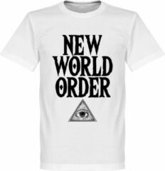 Retake New World Order T-Shirt - Wit - L