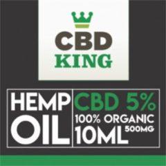 CBD King CBD olie 5 %