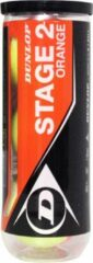 Dunlop Stage 2 Tennisballen - oranje/geel - 3 stuks