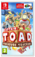 Rode Nintendo Captain Toad Treasure Tracker game - Nintendo Switch