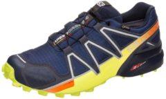 Speedcross 4 GTX Trail Laufschuh Herren Salomon medieval blue / acid lime graphite