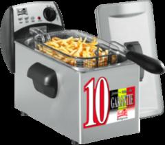 Zilveren Fritel Koude Zone friteuse 3 L FR 1355