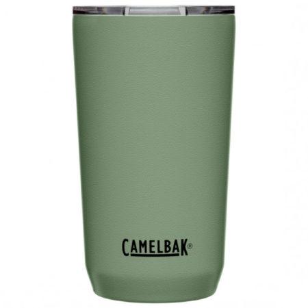 Afbeelding van Zilveren CamelBak Tumbler SST Vacuum Insulated - Isolatie Drinkbeker - 500 ml - Groen (Moss)