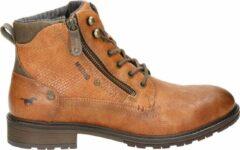 Bruine Boots en enkellaarsjes Anton by Mustang shoes