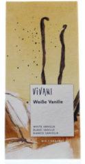 Vivani Chocolade wit vanille 80 Gram
