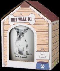 Witte Paper dreams Mok – Jack Russell – Dier – Puppy – Hond – Dieren – Mokken en bekers – Keramiek – Mokken - Porselein - Honden – Cadeau - Kado