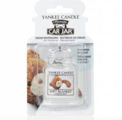Paarse Yankee Candle Soft Blanket Car Jar Ultimate