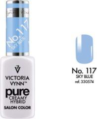 Blauwe Gellak Victoria Vynn™ Gel Nagellak - Gel Polish - Pure Creamy Hybrid - 8 ml - Sky Blue - 117