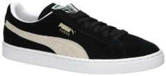 Puma Men's Basketball Suede Classic Low Top Trainers - Burgundy/White - UK 10 - Burgundy/White