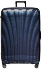 Blauwe Samsonite C-Lite Spinner 86 midnight blue Harde Koffer