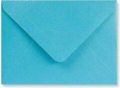 Lichtblauwe EnveloppenGigant.nl Metallic blauwe C7 enveloppen 8,2 x 11,3 cm 100 stuks