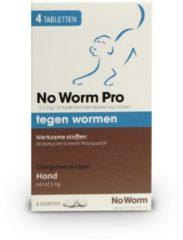 No Worm Pro Hond-S - Anti wormenmiddel - Small Vanaf 0.5 Kg Vanaf 2 Weken