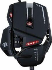 MadCatz R.A.T. 6+ USB gaming-muis Optisch Verlicht, Ergonomisch, Gewichtsreductie, Polssteun, Geïntegreerd profielgeheugen Zwart
