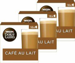 NESCAFÉ Dolce Gusto Nescafé Dolce Gusto capsules Cafe au Lait - 48 koffiecups - geschikt voor 24 koppen koffie