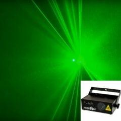 Laserworld EL-60G Geschikt voor gebruik binnen Discolaserprojector Zwart stroboscoop- & discolamp