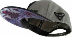 Zwarte Capiche Snapback pet Heren - Black Widow - Unisex - Onesize - Sportcap - Baseball Cap - Mannen - Grijs