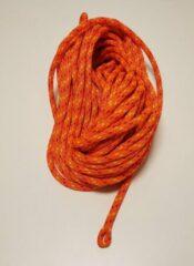 Petzl Flow 11.3mm soepele kernmantellijn met spliced touweinde 45m oranje 1 x splice