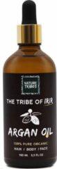 Nature Tribes - Arganolie - 100% Puur - 100% Biologisch - Argan Olie voor Haar, Huid en Gezicht - Koudgeperst - 100ML - Gezichtsverzorging - Argan Oil - Moederdag cadeautje - Moederdag cadeau