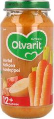 Olvarit Maaltijd 12m Wortel Kalkoen Aardappel 250 gr