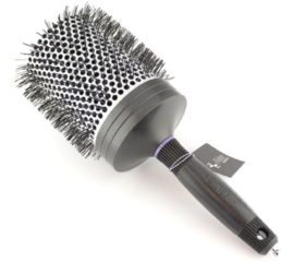 Grijze Nebur - Round Ceramic Ionic Brush - 80 mm