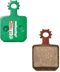 Groene Swissstop Organic Disc Pads - Remblokken voor schijfremmen