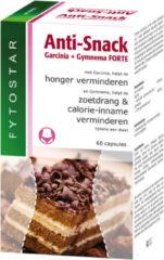 Fytostar Figuur Anti-snack Garcinia + Gymnema Forte Capsules Zoetdrang & Colorie-inname Verminderen 60capsules