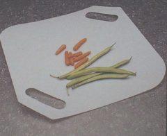 Grijze Repusel Flexibele snijplank met twee handvaten