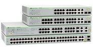 Allied Telesis AT FS750/28 WebSmart - Switch - 24 Anschlüsse - Smart - an Rack montierbar