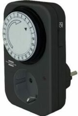 Stopcontact-schakelklok Analoog Dagprogramma IP20 Brennenstuhl 1506450