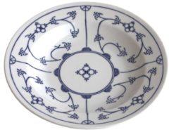 Suppenteller Blau Saks Kahla Weiß
