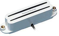 Seymour Duncan SHR-1B WHT Hot Rails Strat wit Bridge