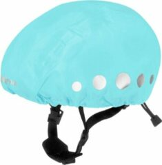 Playshoes Regenhoes Fietshelm Polyester Turquoise Maat M