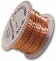 Scope Basics Hobbydraad 50 gram 0,50mm ongelakt zuiver koperdraad, lengte ± 28 meter.
