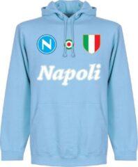 Retake Napoli Team Hoodie - Lichtblauw - M