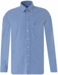 Lichtblauwe Campbell Casual overhemd met lange mouwen