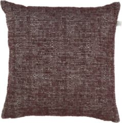 Rode Dutch Decor Forza - Sierkussenhoes - 45x45 Cm - Bordeaux