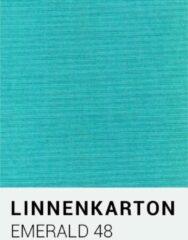 Linnenkarton notrakkarton Linnenkarton 48 Emerald 30,5x30,5cm 240 gr.
