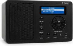 Zwarte Auna IR-130 Internetradio Wifi
