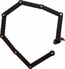 Vouwslot Top-Lock 90cm zwart met houder